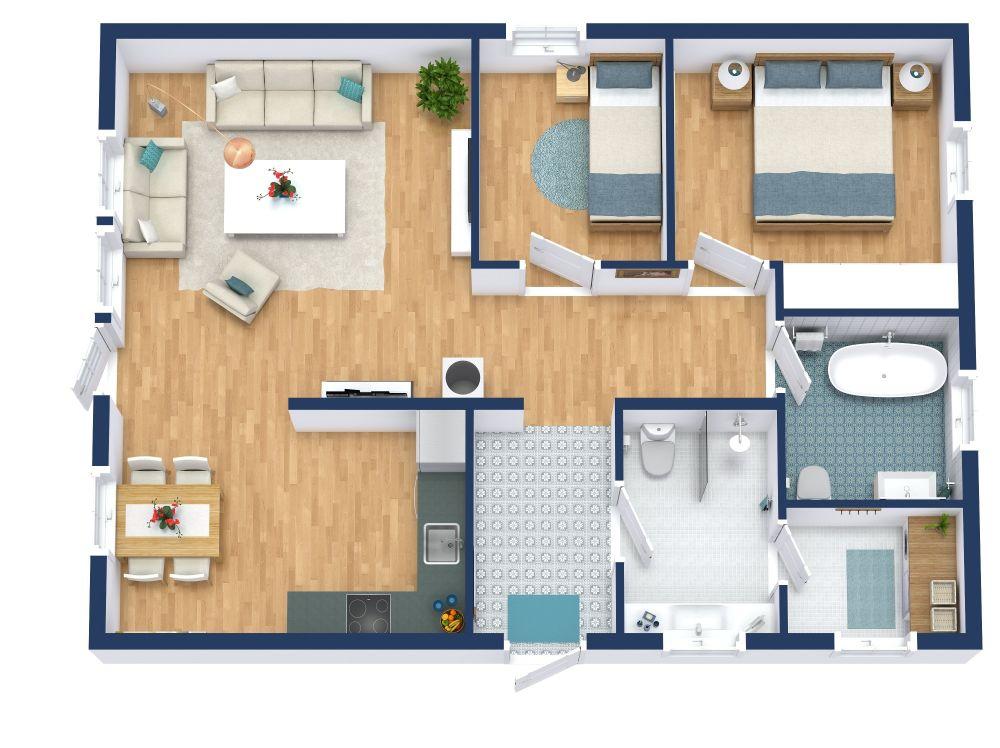 RoomSketcher Home 3D Floor Plans