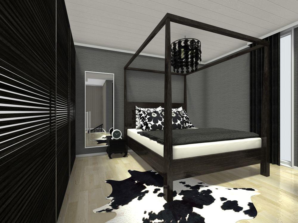 Master Bedroom 3D Floor Plan Examples