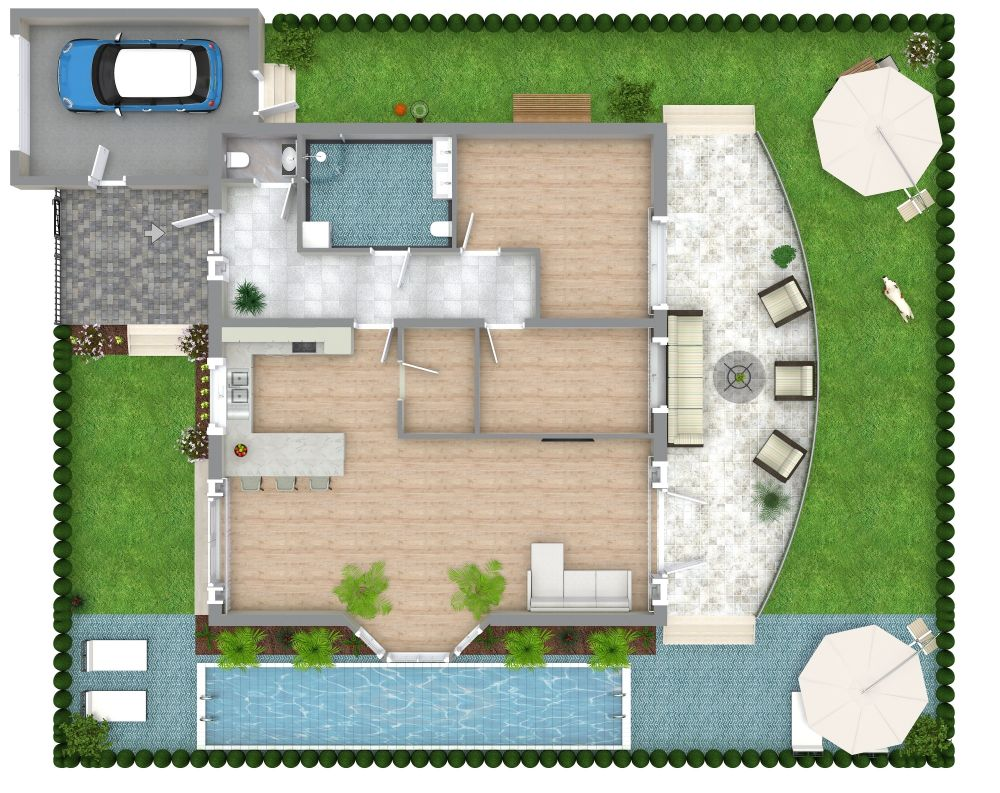 3D Site Plan Examples